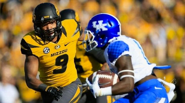 UK halfback Stanley Williams struggled to find room to run against Missouri.