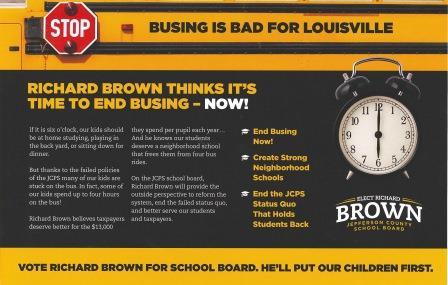 Richard Brown ad by Bluegrass Fund