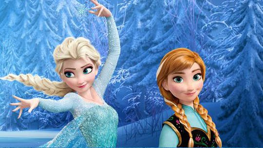 Screenshot from Frozen.Disney.com