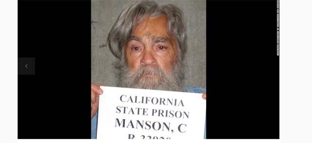 Charles Manson in 2011 (Source: CNN)