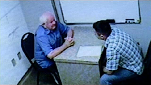 George Geary in a police interview.