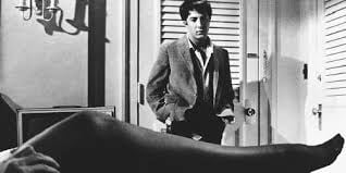 "A young Dustin Hoffman in ""The Graduate"""