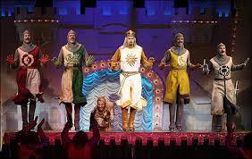 """""""Spamalot"""" on Broadway"""