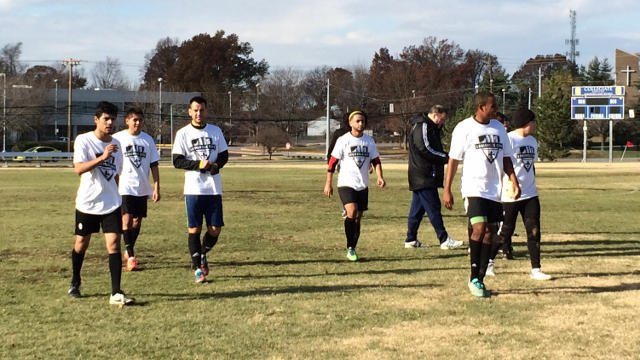 The tryouts will continue Sunday morning at 9 a.m.