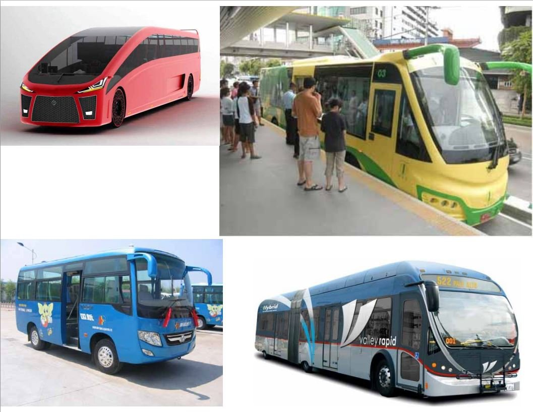 The Urban Land Institute study proposed some alternate specialized transit vehicles that could be used until a long-term plan could be developed (from ULI committee's slide show).