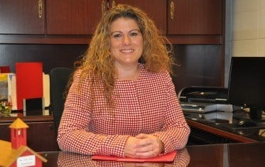 Jennifer Cave took over as Noe Middle School's new principal on Monday, Dec. 8, 2014.
