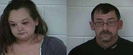Amber Rapp, Kenneth Sams (Source: Carroll County Detention Center)
