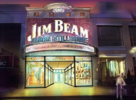 Jim Beam exterior
