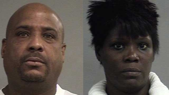 Terrance Brown, Latanya Turner (Source: Louisville Metro Corrections)