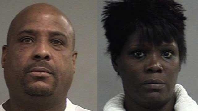 Terrance Brown, Latanya Turner (Source: Louisville Metro Corrections)