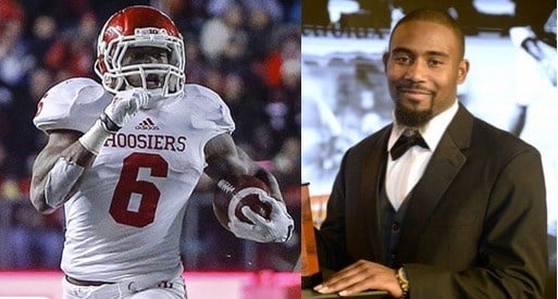 IU's Tevin Coleman (left) and Gerod Holliman of U of L have taken unlikely paths to all-American status.