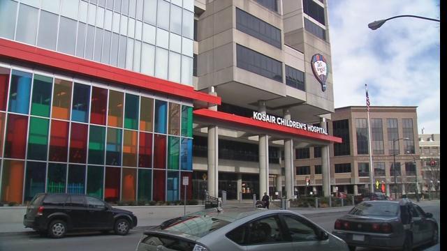 Kosair Children's Hospital in downtown Louisville