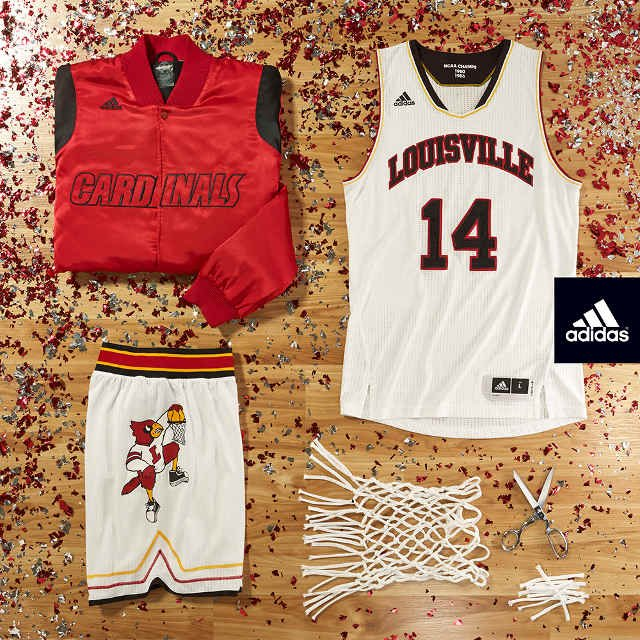 The uniforms will be worn when the University of Louisville hosts Duke on Jan. 17, 2015, during their first season in the ACC.