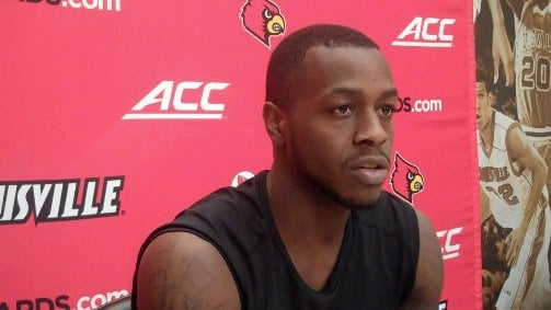 Louisville guard Chris Jones has excelled in ACC play.