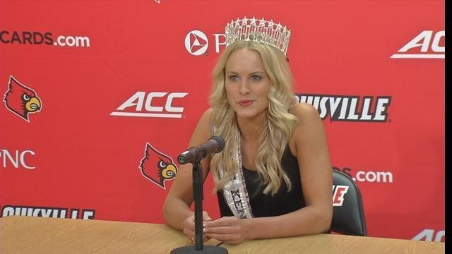 Katie George says she's an unlikely beauty queen.