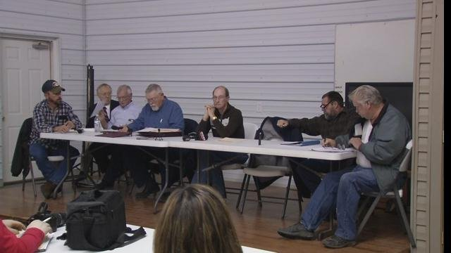Embattled Southeast Bullitt Fire Chief Julius Hatfield was out-voted on the motions passed at the meeting Monday Jan. 12, 2015.