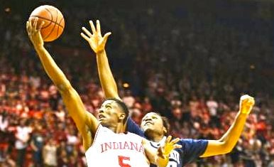 Troy Williams had 15 points and 4 rebounds as Indiana beat Penn State, 76-73, Tuesday.