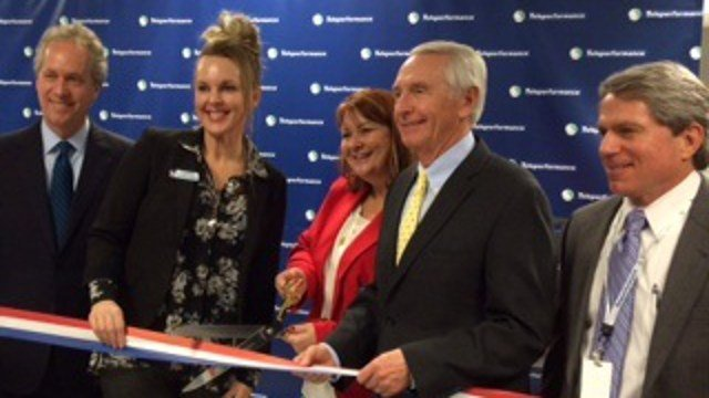 On Wednesday, Jan. 14 2015, Beshear cut the ribbon for Teleperformance, a call center in Louisville that will employ 750 people.