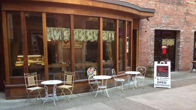 Le Gallo Rosso's new location in the Mellwood Arts Center.