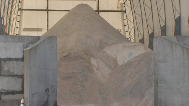 Kentucky has used 37,000 tons of salt statewide this year, which is five times less than last season.