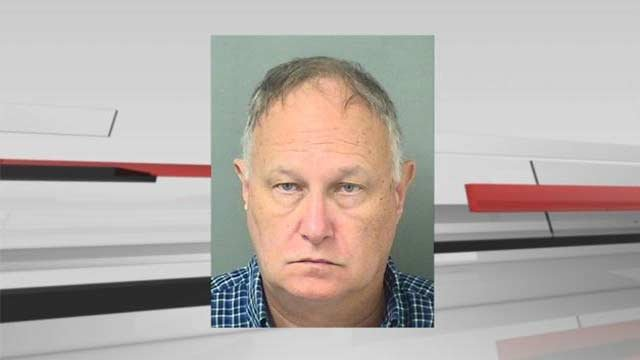 Blake just recently moved to Florida and -- according to Boynton Beach Police Department -- he drove to a restaurant to meet what he thought was a 15-year-old boy for sex.