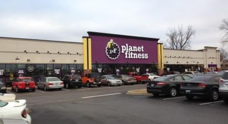 New Planet Fitness at Central Station shopping center, Jan. 26, 2015