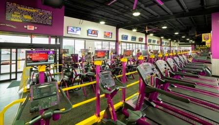 Interior of Central Station location (courtesy Planet Fitness)