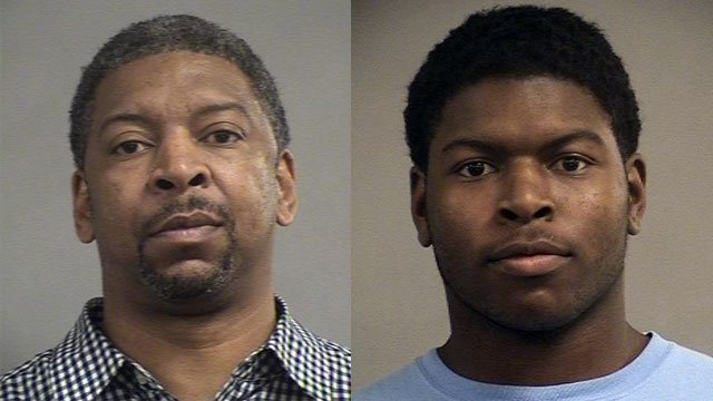 Demetrius Franklin (left), Daelyn Franklin (right) (Source: Louisville Metro Corrections)