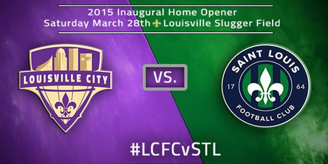 Louisville City will take on apparent rival St. Louis FC in the team's home opener on March 28. (Courtesy Louisville City FC)