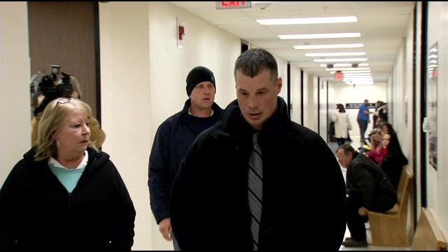 Jonathan Osborne at a court appearance on Feb. 5, 2015.