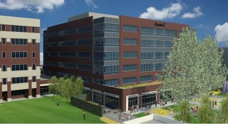 Rendering of Kindred's proposed office building