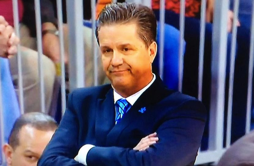 John Calipari was disgusted with his team early in the second half against Florida, but the Wildcats pulled away for a 68-61 win.