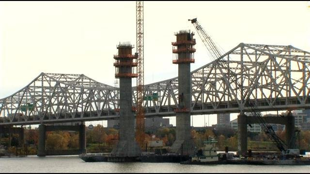 Walking tours start again next month on the Big Four Bridge, where people can learn about the bridges project.