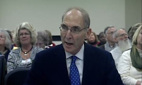 University of Kentucky President Eli Capiluto asked the budget committee for the funding Tuesday