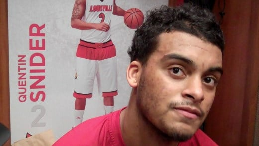 Quentin Snider impressed Rick Pitino with his play against Pittsburgh.