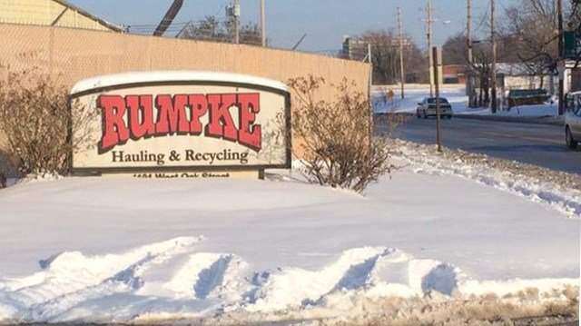 Garbage pickup is a little backed up too at places like Rumpke Waste and Recycling Services. Each of the company's 80 trucks takes care of 500 to 600 homes.