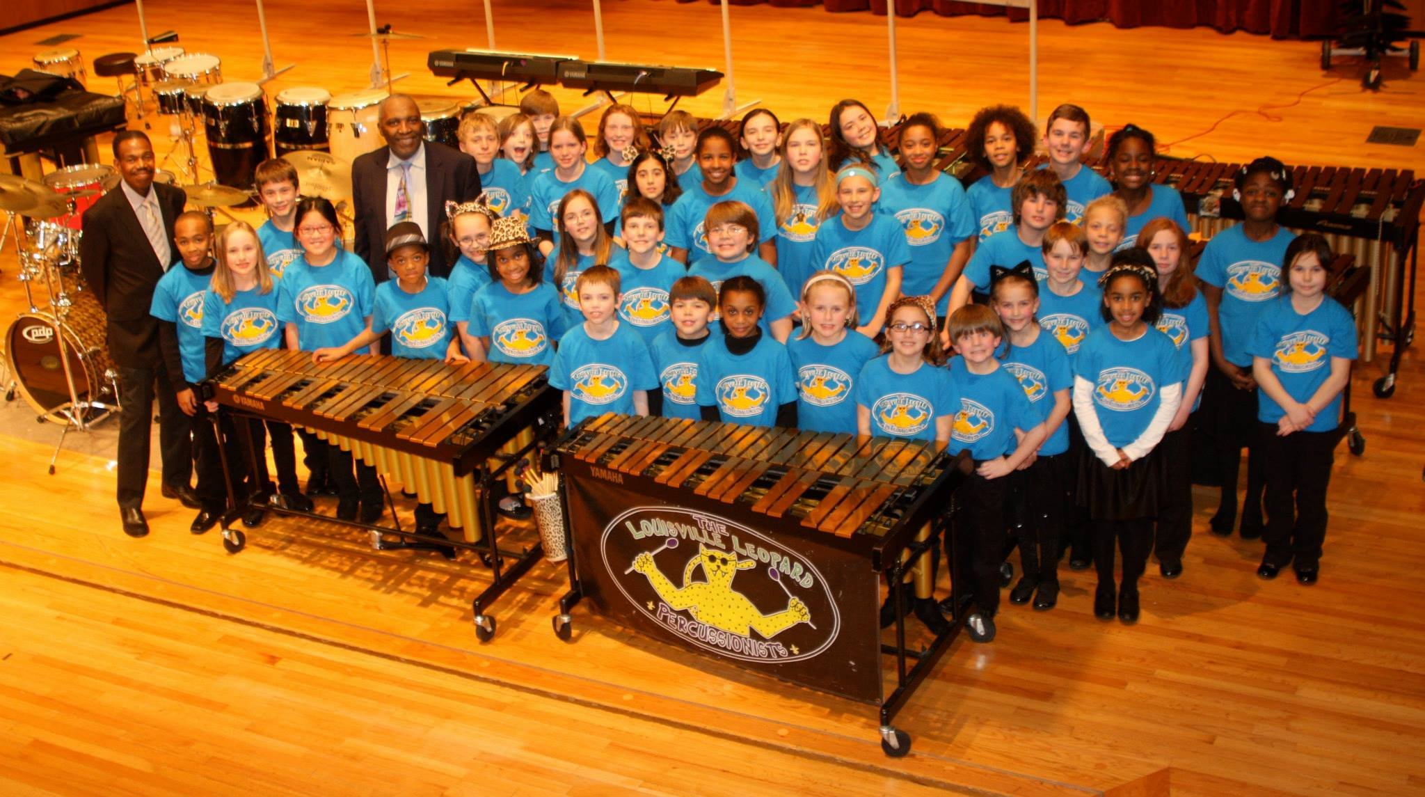 The Louisville Leopard Percussionists