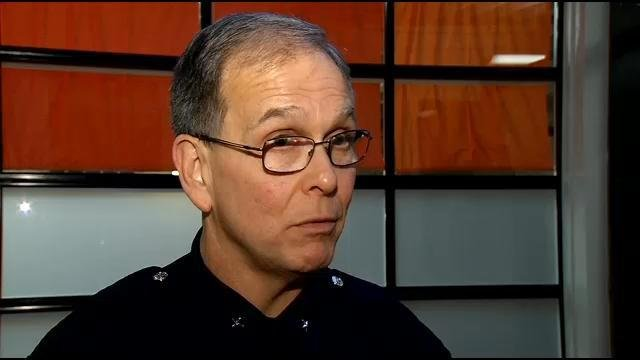 LMPD Chief Conrad speaks about recent violence prior to YPAL event in Louisville.