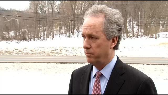 Mayor Fischer speaks about recent violence in Louisville Wednesday afternoon.
