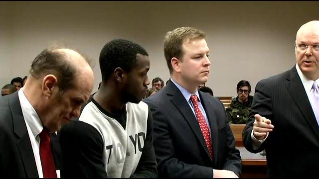 Chris Jones appeared in court Thursday morning.