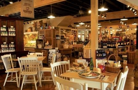 Marche Burette Deli at the Omni Amelia Island Plantation Resort in Florida (courtesy of Omni)