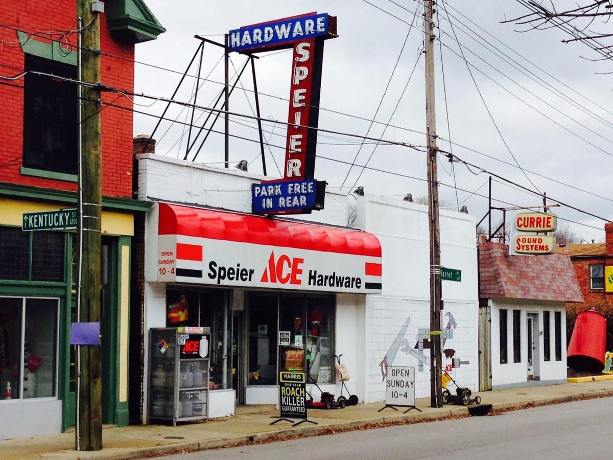 Speier Ace Hardware (real estate listing)