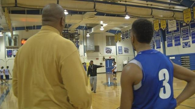 Malyiek McCray, Scooter's son, averaged 18 points for the Kentucky Country Day team that was beaten in district play last week.