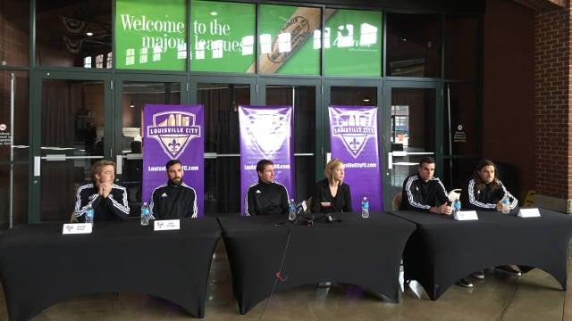From left to right: Bryan Burke, Juan Guzman, James O'Connor, Amanda Duffy, Conor Shanosky, Matt Fondy.