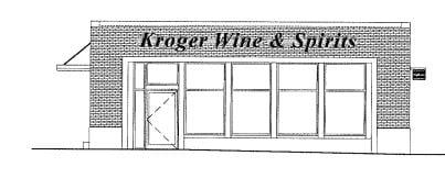 Rendering of liquor store