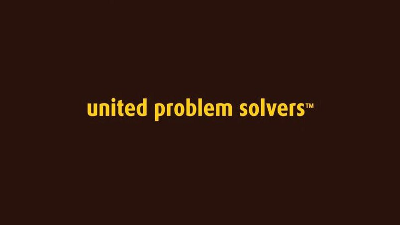 Screenshot from the new 'United Problem Solvers' ad now on YouTube.