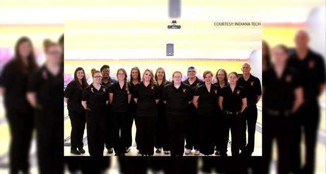 Indiana Tech Bowling Team (courtesy: Indiana Tech)