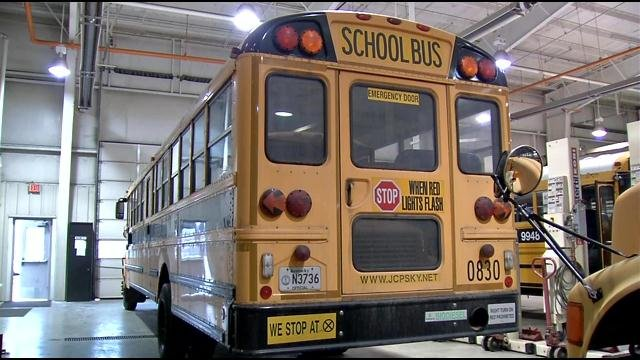 JCPS says bus 0830 will be repaired and returned to service.