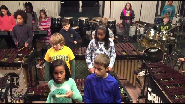 About 60 student musicians make up The Louisville Leopards Percussionists, who gained national attention for their rendition of three Led Zeppelin songs recently.
