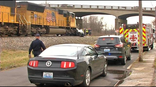Three teens were killed when their car was hit by a train at a railroad crossing March 14, 2015.